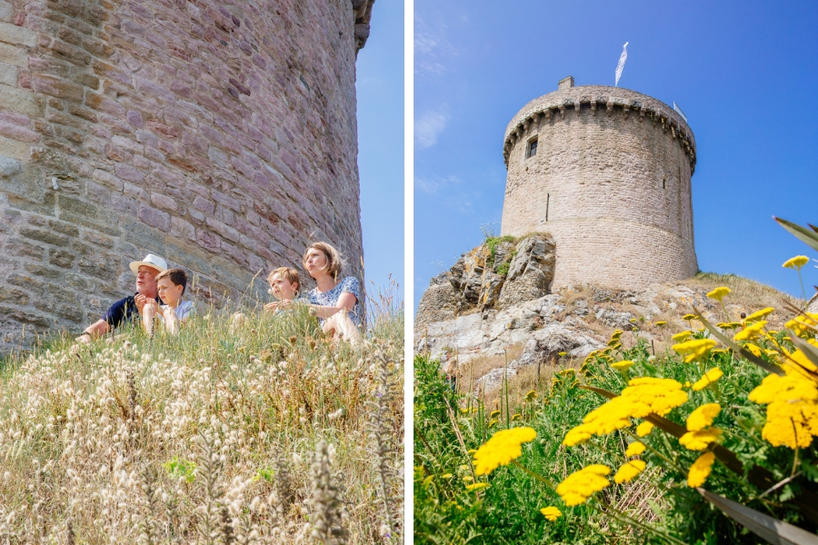 donjon fort La Latte