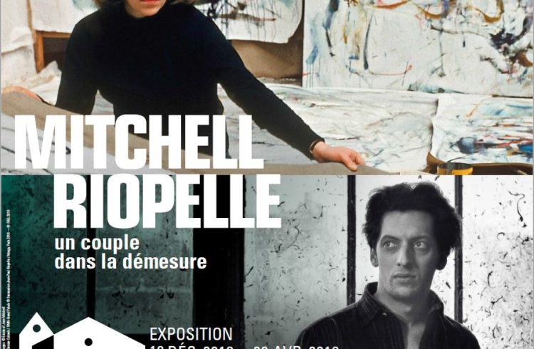 Affiche-format-carre-Mitchell–1956-Photo-Dean-Mitchell-Riopelle–1953-Photo-Colomb—FHEL-2018